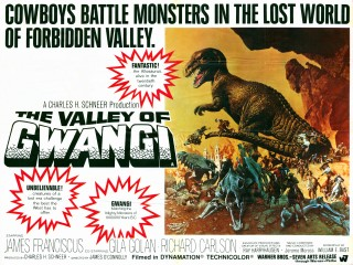 Cartel de The Valley of Gwangi