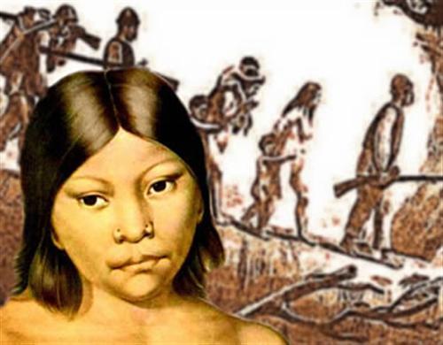Indios esclavizados
