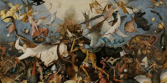 Brueghel, The Fall of the Rebel Angels. Interfaz de LaFiac 2012