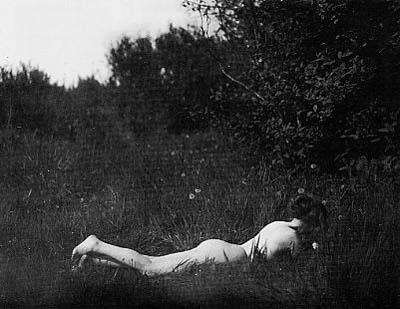 Imogen cunningham autorretrato, 1906