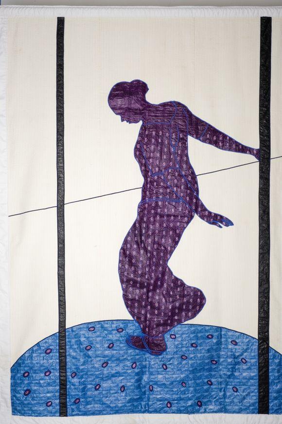 Danse de kayes 2008  248 x 175 cm 60