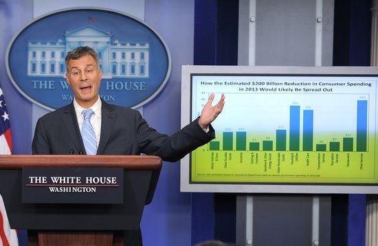 Alan Krueger, presidente dle Consejo de Asesores Económicos de Obama.