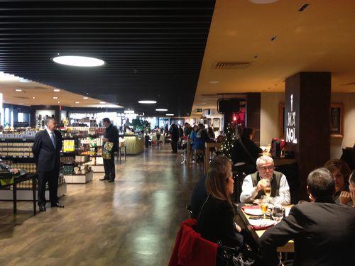 Perspectiva del Gourmet Experience de Callao en Madrid