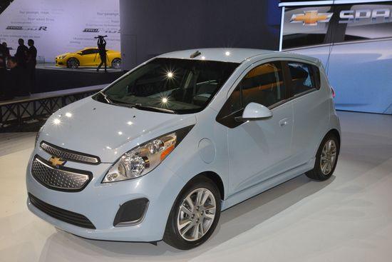 Chevrolet Spark eléctrico / Newspress