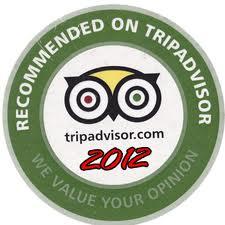 Tripadvisor recomended