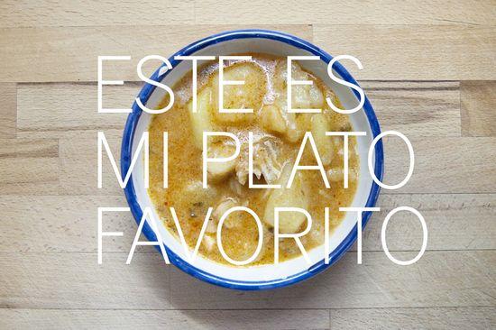 Patatas bacalao