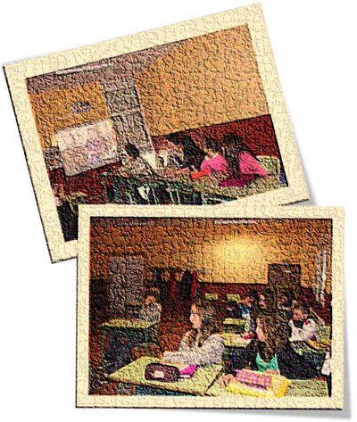 IES Candás. Estudiantes de 1º y 2º de Educación Secundaria Obligatoria