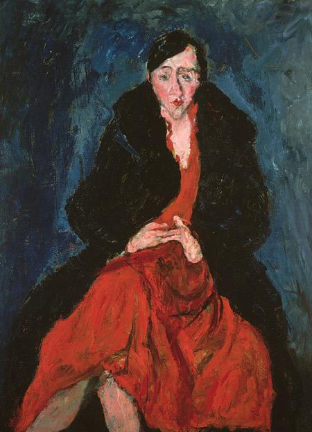 Chaïm Soutine, Madelaine Castaing. cca, 1929