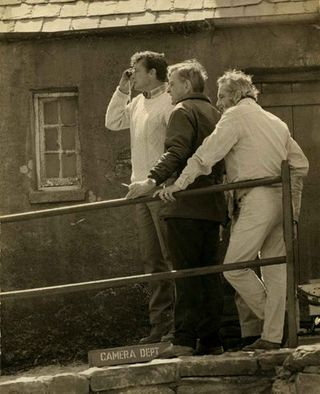 Ernie Day, David Lean y Perico Vidal
