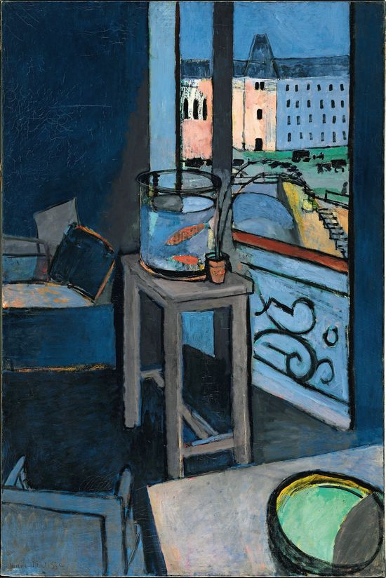 MATISSE.18._Interior with Goldfish_Henri Matisse_RI