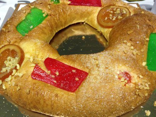 Roscón de Reyes de Mercadona