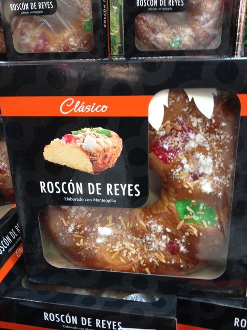 Roscón de Carrefour en caja de diseño