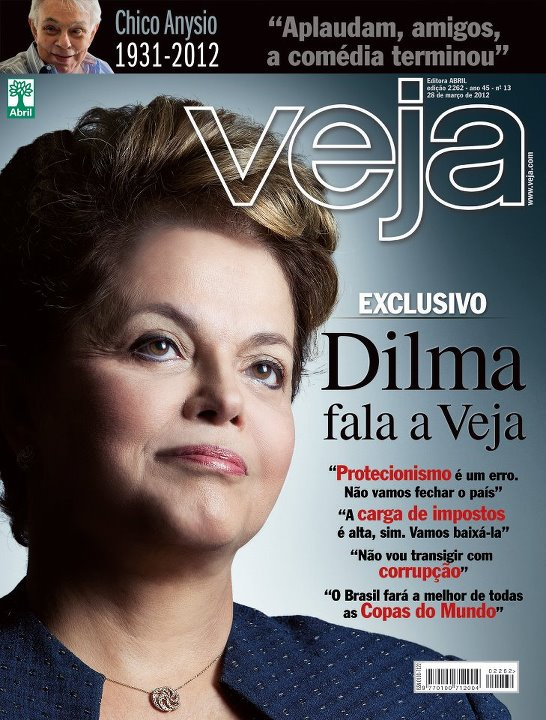 Dilma en Veja (3)