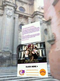 El flyer de Women on Waves en la Catedral de Granada