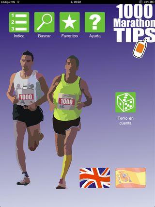 El programa 1000 Marathon tips