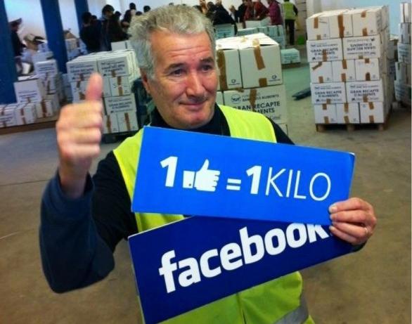 1 like 1 kilo
