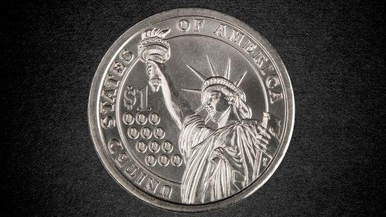 La moneda del billón de dólares