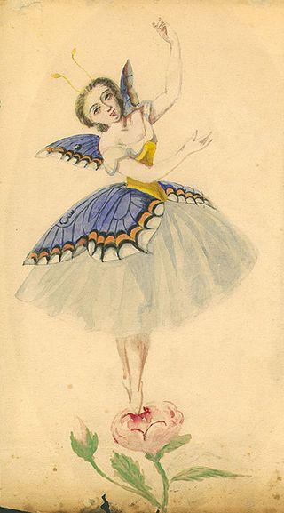 Emma Livry (Le papillon)