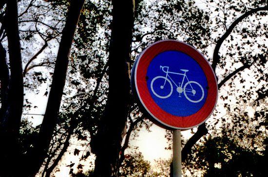 Cartel ciclista