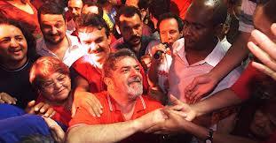 Lula en tre la gente