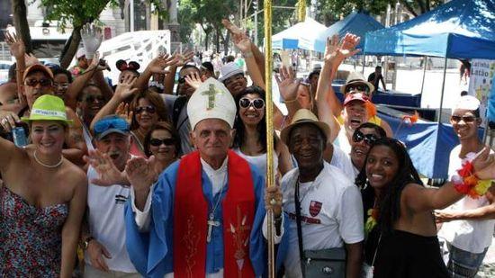 El Papa en los carnavales de Rio