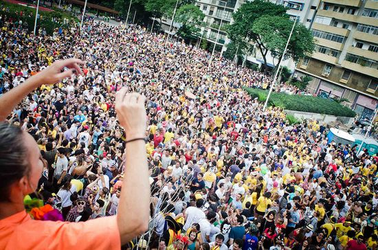Carnaval de calle en São Paulo