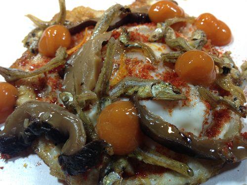 Huevo frito de Daviz Muñoz en StreetXo