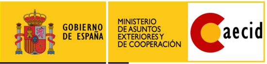 Logo aecid con escudo