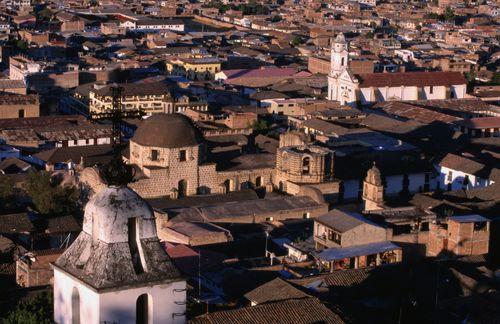 Panorámica de Cajamarca, en Perú / Paul Kennedy