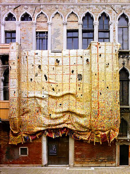 El Anatsui Bienal Venecia 2007