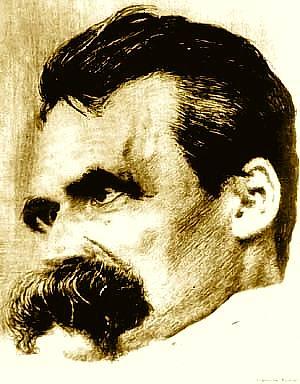 Nietzsche portrait par Hans Olde mort en 1917