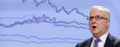 Olli Rehn, Comisario Europeo de Asuntos Económicos. Foto Françoise Lenoir