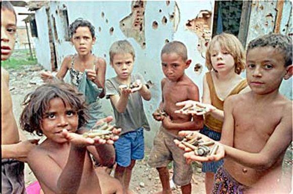 Trabajo en favelas peligrosas