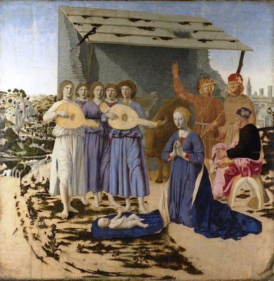 Piero della Francesca, Nativity, National Gallery, London, 1470