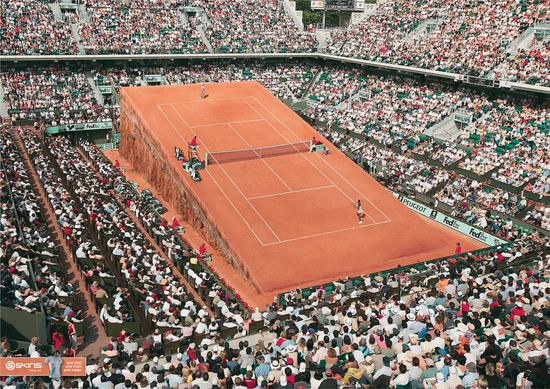 Skins-tennis