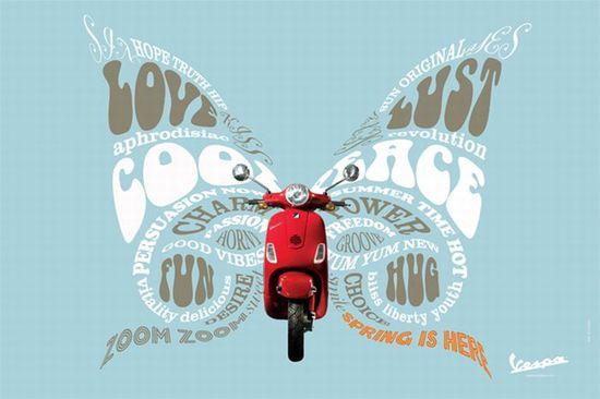 Vespa-motorcycles-words