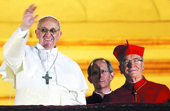 El papa Francisco y el cardenal Hummes