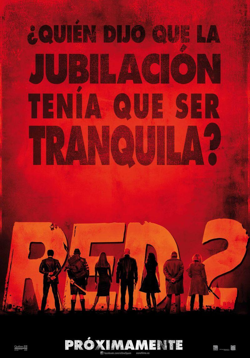 Cartel teaser RED 2