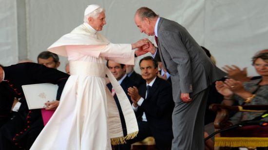 Papa Benedicto XVI en España
