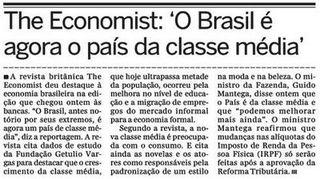 Brasil el país de la clase media