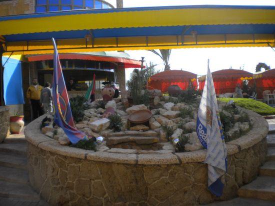 Restaurante en el campo de refugiados de Al Buriy, Gaza / M. Á. Medina
