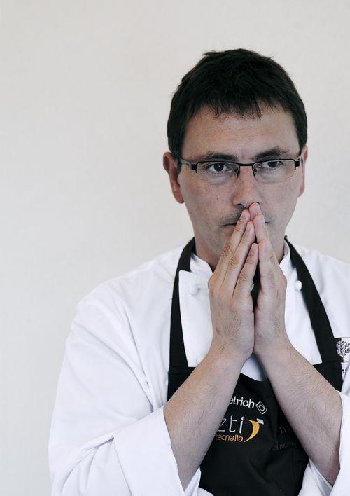 """Andoni Luis Aduriz: """"Se trata de una lista de tendencias, que destaca a los restaurantes más """"calientes"""". Un porcentaje elevado de nuestros clientes anglosajones nos llega por su influencia"""""""