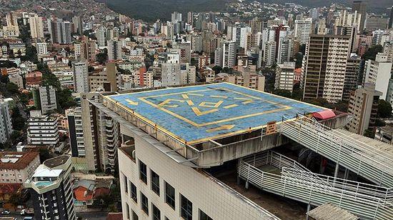 Edificios con helipuertos