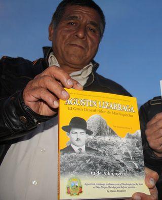 Lucho Lizárraga, nieto de Agustín Lizárraga