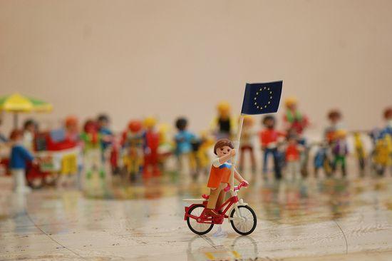 La UE incorpora la bici a sus políticas. Foto de la ECF