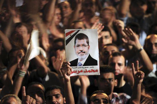 Manifestación a favor de los Hermanos Musulmanes, en la plaza Tahrir de El Cairo, en 2012 / Foto: Reuters