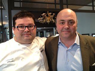 Marcos Morán y Javier Fernández Hidalgo, uno de los cuatro socios asturianos