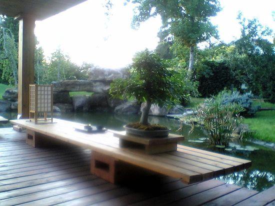 Es un jardín para alcanzar la relajación