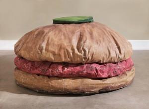 Oldenburg.Floor-Burger-1962 photo Sean Weaver