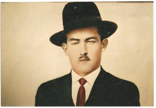 Retrato de Agustín Lizárraga.